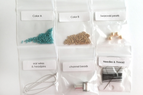 Charming Channel Earring Supplies