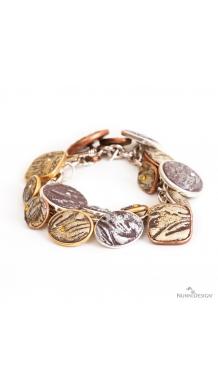 Charming Clay Charm Bracelet