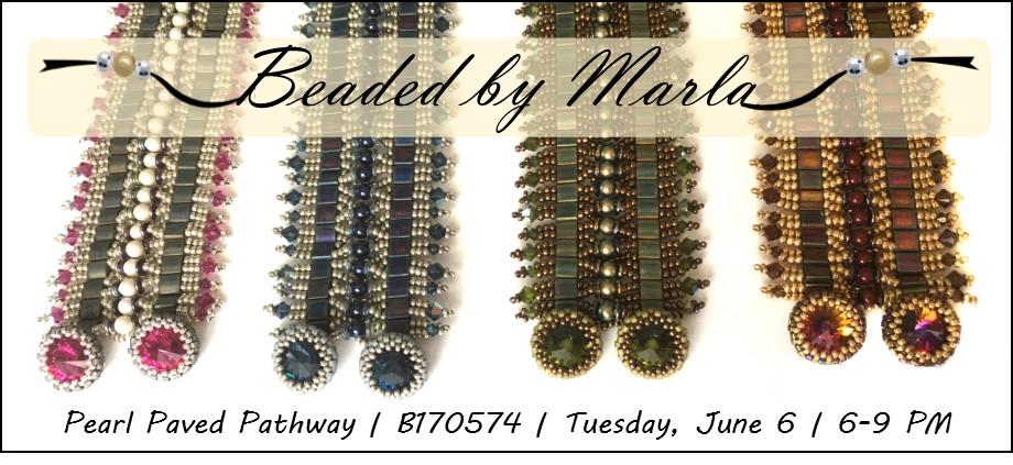 Pearl Paved Pathway Bracelet